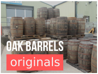 oak barrels now in stock